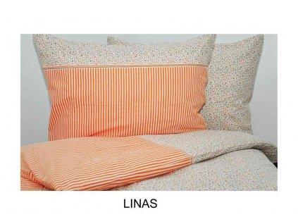 Krepové povlečení Linas 70x90, 140x200|200