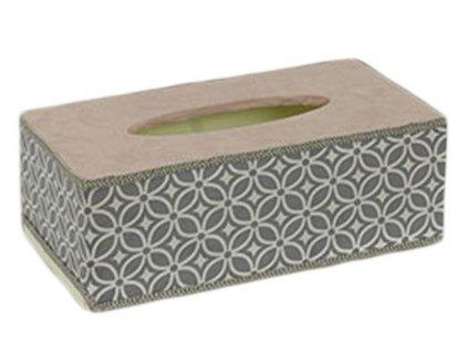Krabička na kapesníky HB750527 šedá