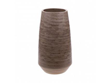 Keramcká váza přírodní 40 cm