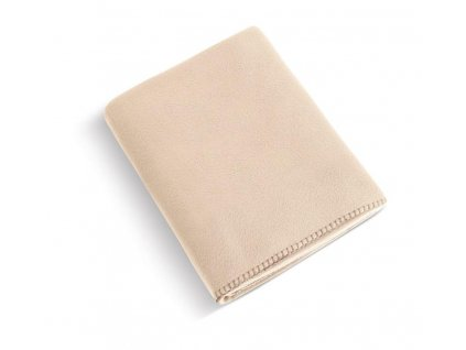 Fleecová deka 4013/027 béžová