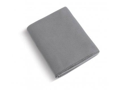 Fleecová deka 4013/017 šedá