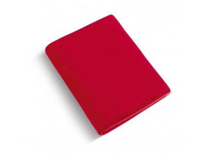 Fleecová deka 4013/014 červená