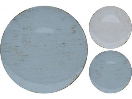 Dekorativní podnos kulatý průměr 39,5 cm