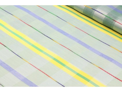 Dekorační látka /voál šíře 150 cm barevná