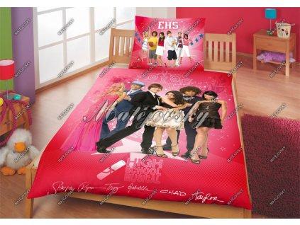 Bavlněné povlečení High School Musical 3 70x90, 140x200