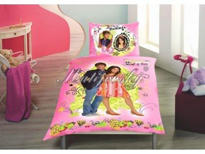 Bavlněné povlečení High School Musical 2 70x90, 140x200