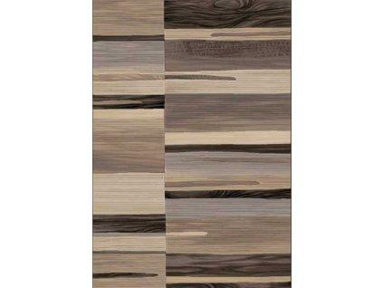 Kusový koberec  Argentum 63007/4343 béžovohnědý