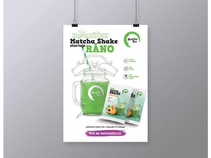 poster A3 shake budik vizualizace