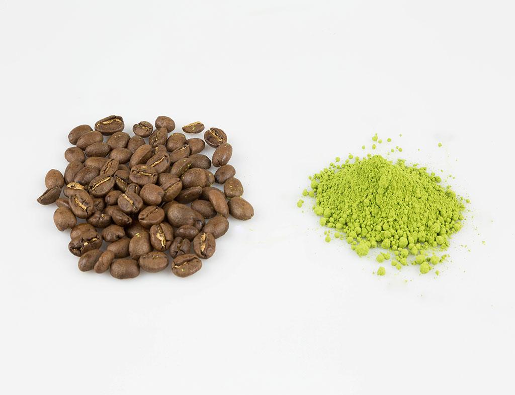 Čaj matcha a káva