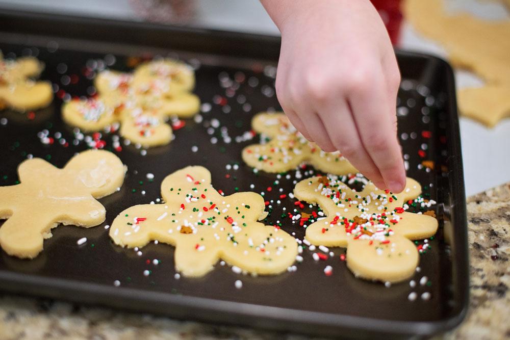 Vianočné Matcha sušienky