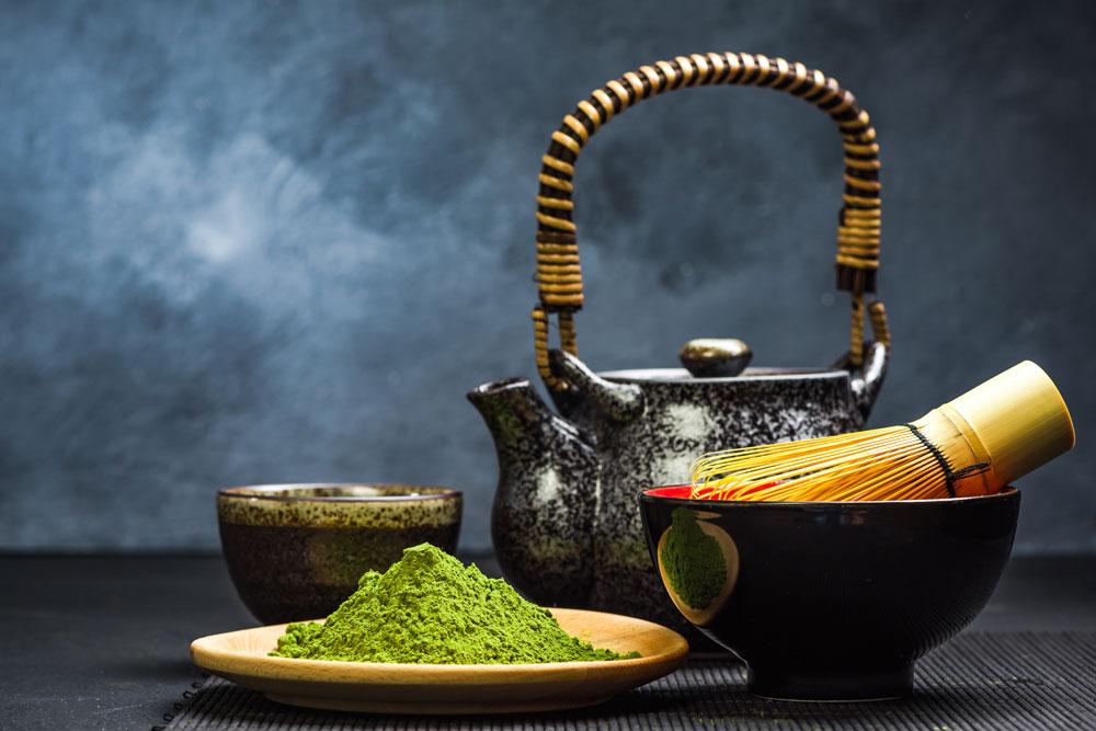 Zelený čaj Matcha: Jediný svojho druhu
