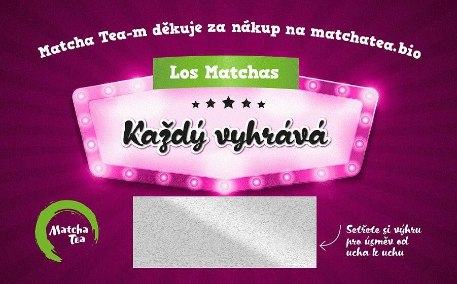 Pravidla soutěže Matcha Tea Losy