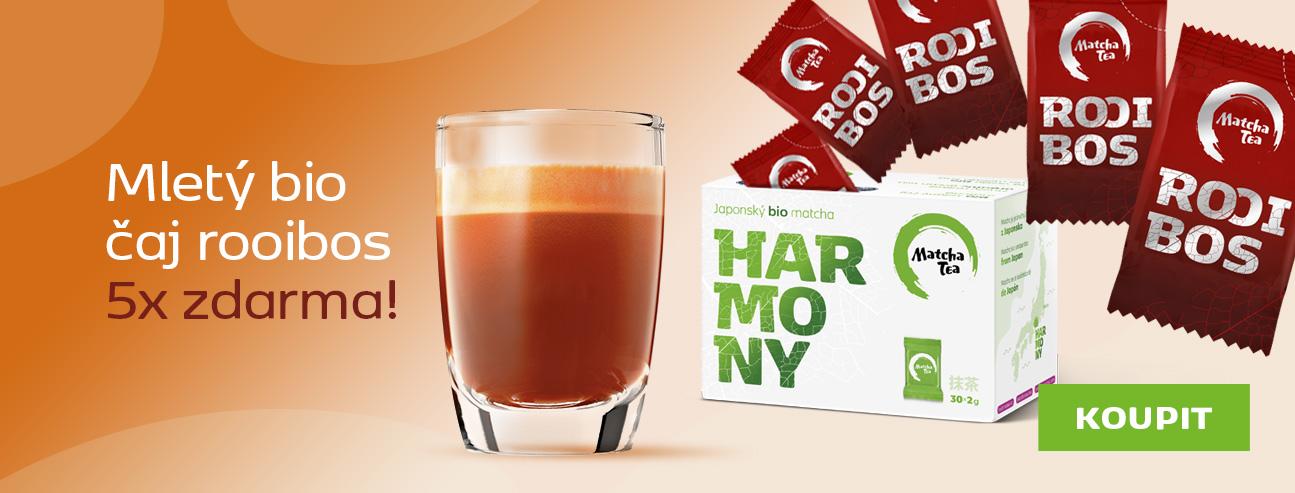 Harmony + 5 porcí Rooibos zdarma