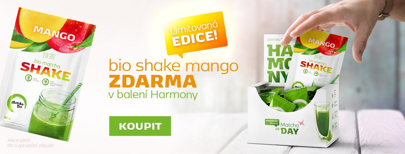 Mango shake + Harmony desktop