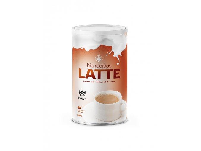 rooibos latte vizualizace