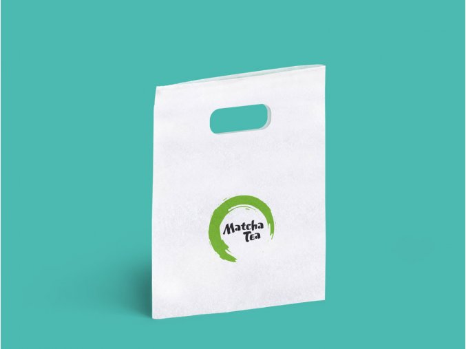 solubag punched handle bag logo