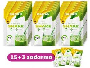 Matcha Shake Banan 15+3 zadarmo Akcia