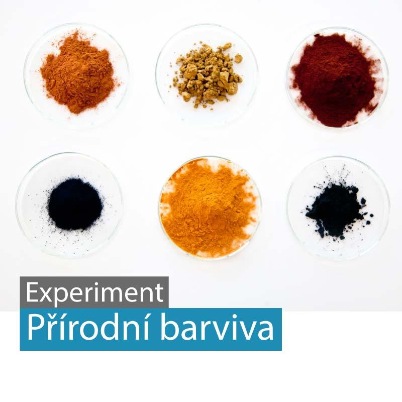 Příprava přírodních barviv