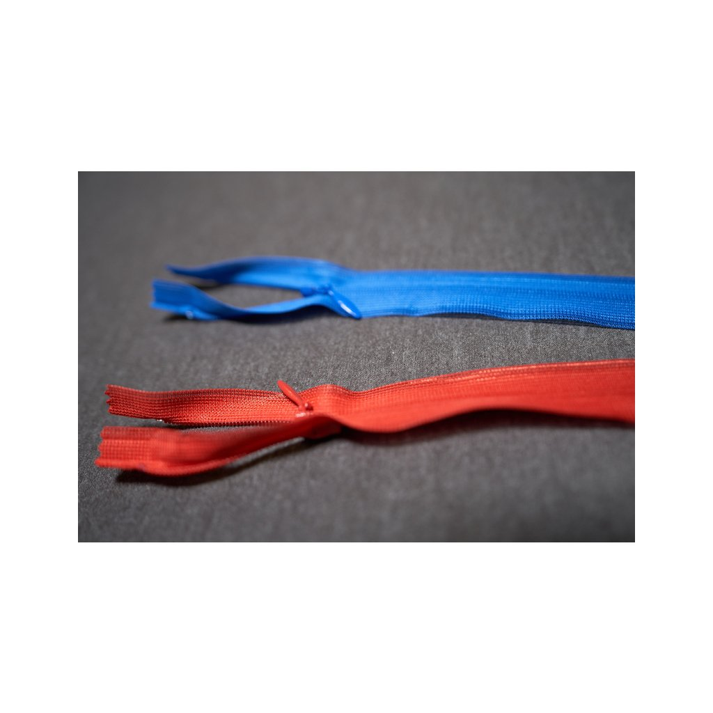 Zip YKK skrytý 30 cm