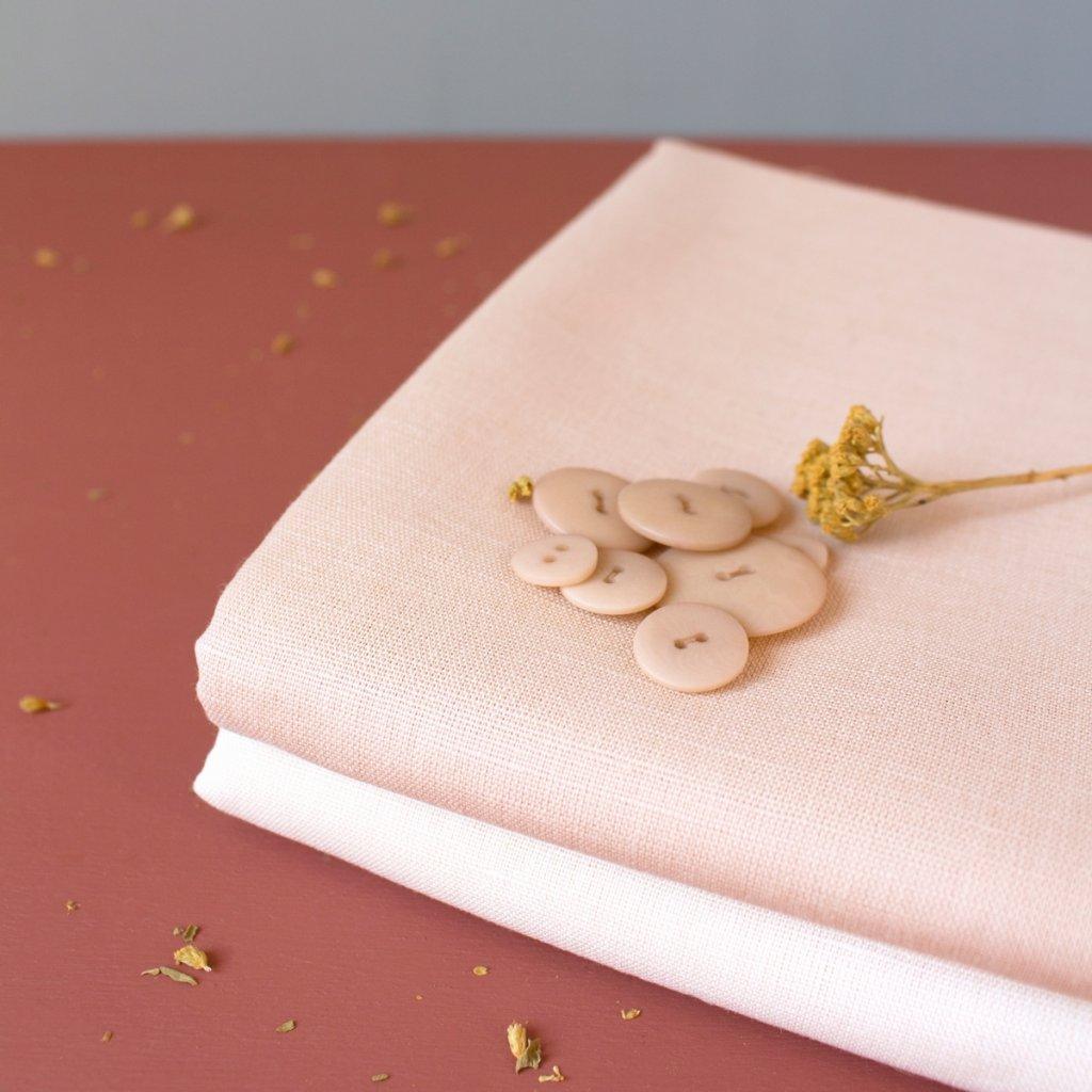 Linen Blush Fabric 14931