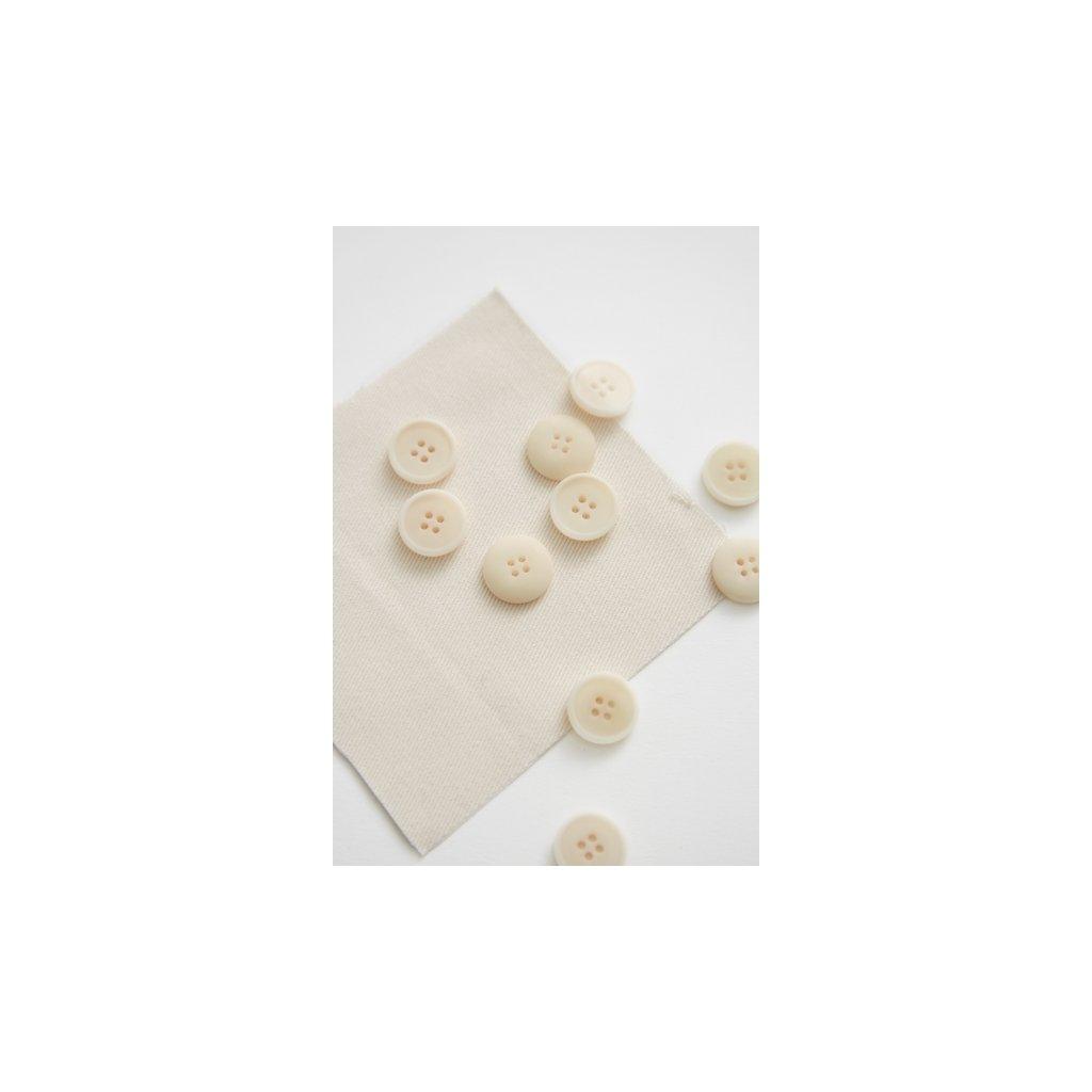 knoflik bily 15 mm corozo