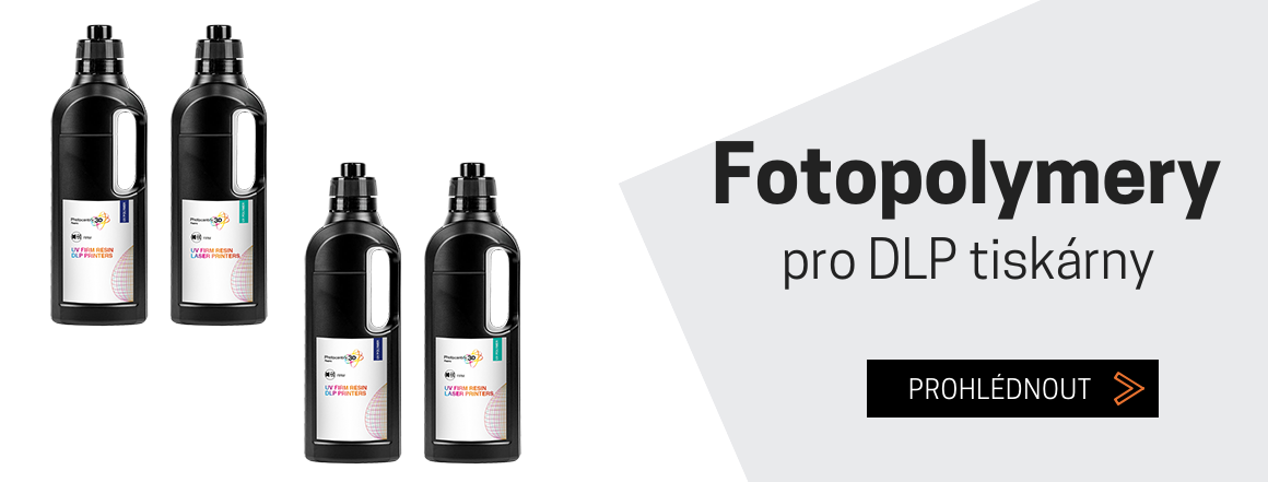Fotopolymery pro SLA tiskárny