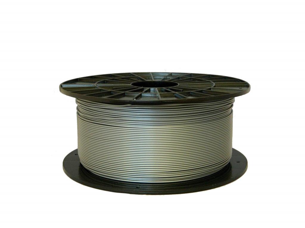 PLA tisková struna stříbrná 1,75 mm 1 kg Filament PM