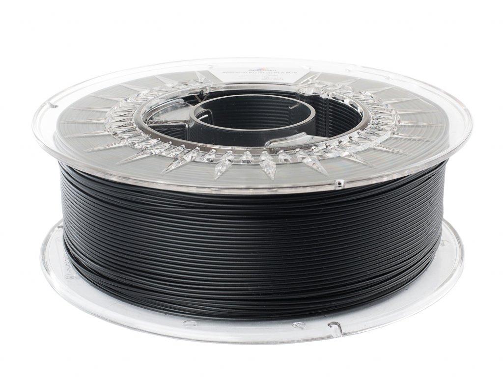 Pla matný filament temně černý Spectrum 1,75mm