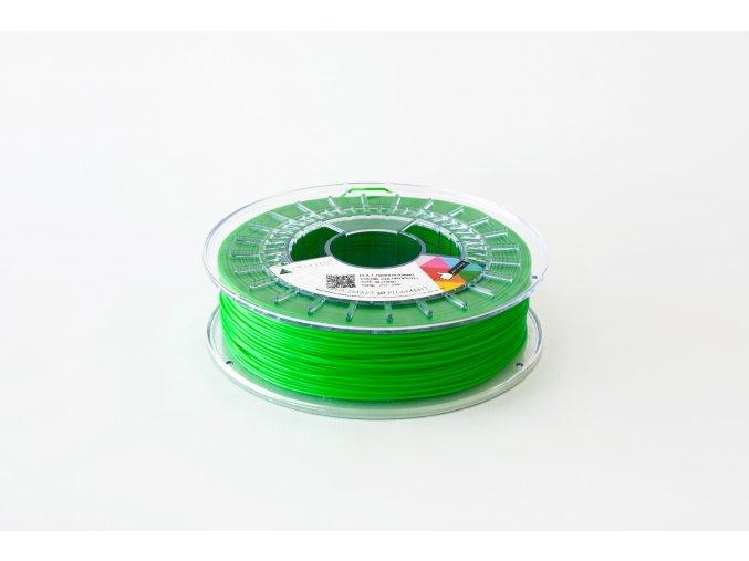 PLA tisková struna zelená Chlorofyl 1,75 mm Smartfil 1kg