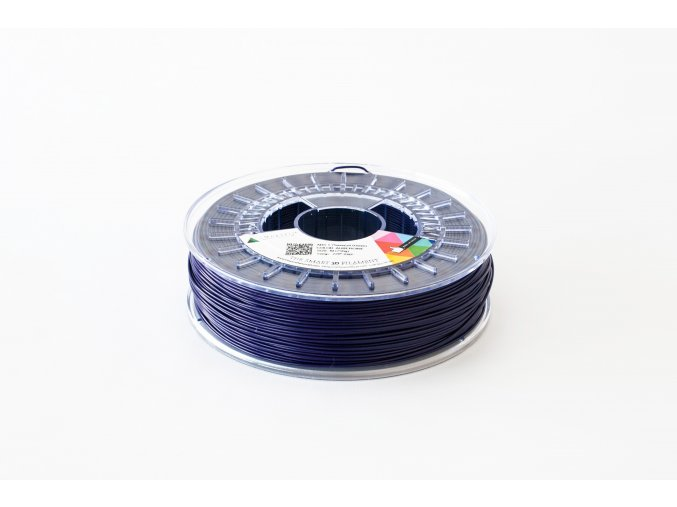 PLA filament modrofialový Aubergine 1,75 mm Smartfil (Cívka 0,75 kg)