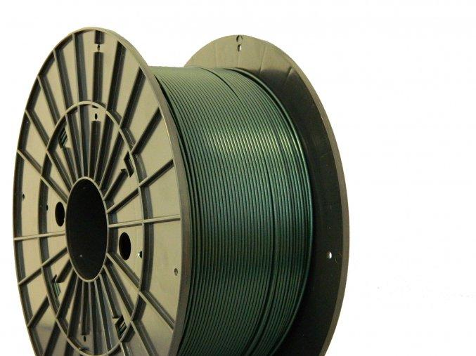 pla metalicgreen filament pm