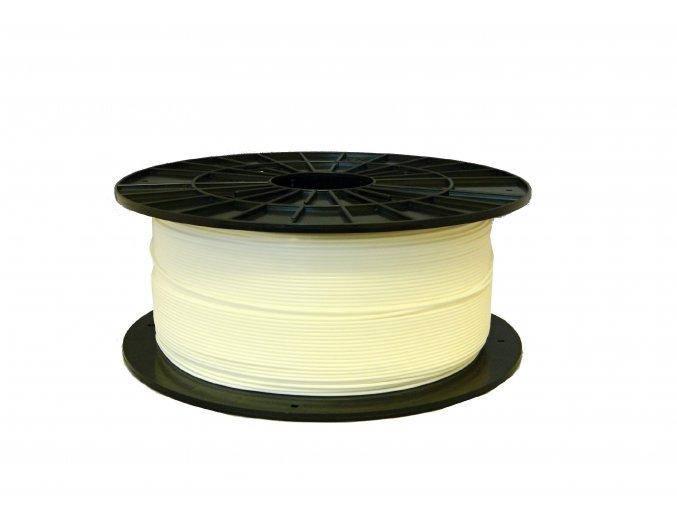 PLA tisková struna bílá 1,75 mm 1 kg Filament PM