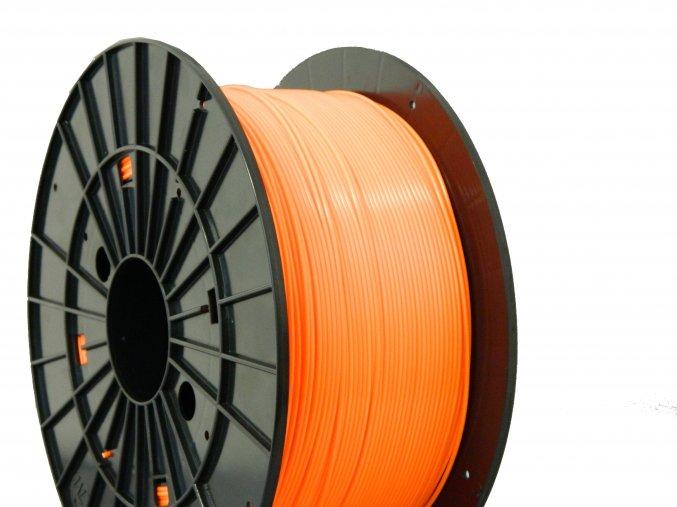 pla orange filament pm