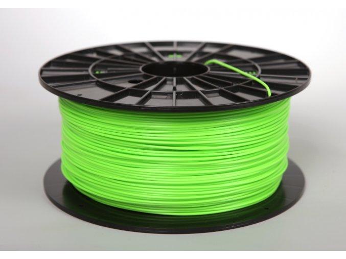 PLA tisková struna zelenožlutá 1,75 mm 1 kg Filament PM