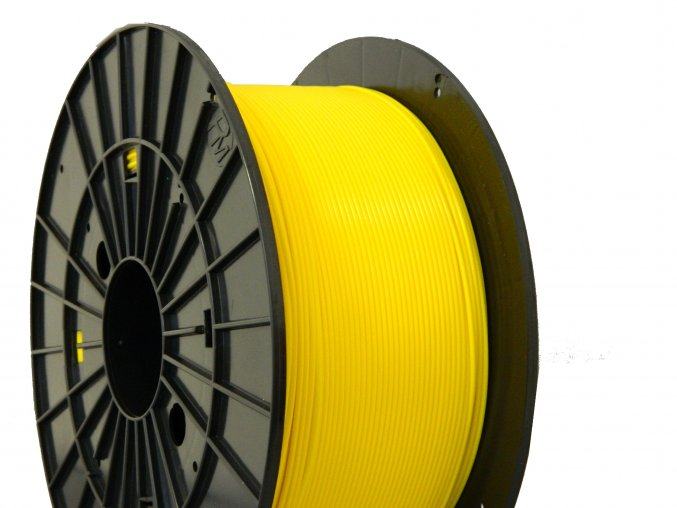 pla yellow filament pm