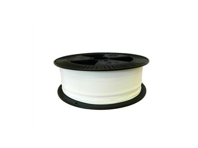 Pla bílá tisková struna Plasty Mladeč 2kg