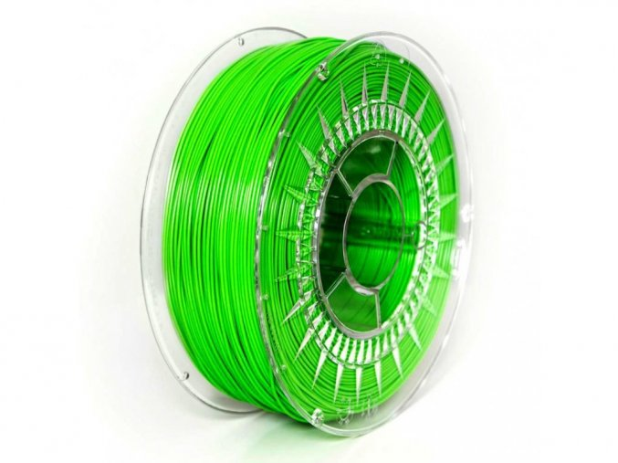 TPU tisková struna 1,75 mm jasná zelená Devil Design 1 kg