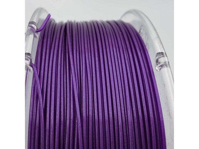 PLA filament 1,75 mm Galaxy třpytivý fialový Devil Design 1 kg