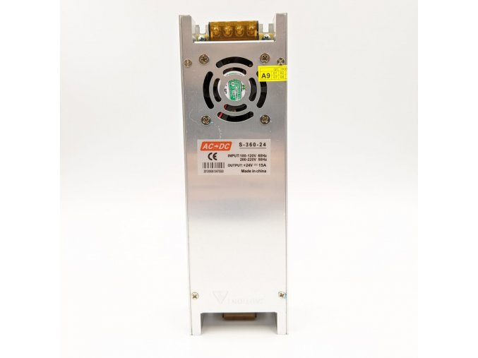 Průmyslový zdroj 24V/360W SLIM