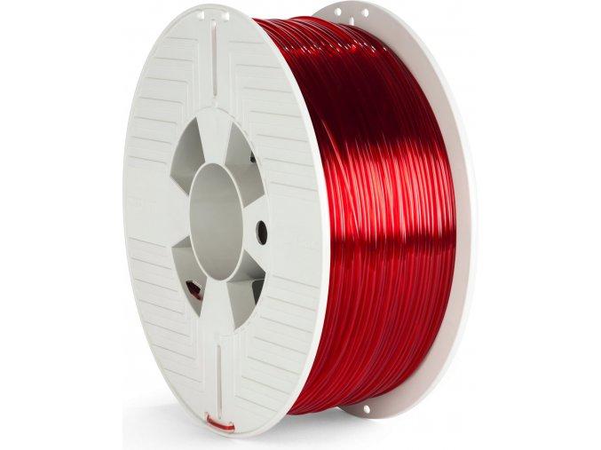 verbatim pet g transparent red 1,75 mm
