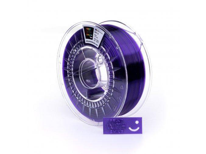 PET G Violet Glass 1