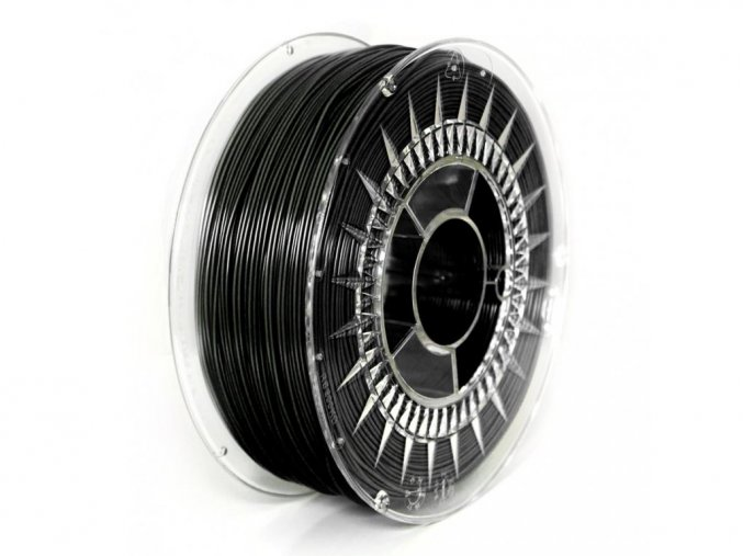 ABS+ filament 1,75 mm černý black Devil Design 0,33kg
