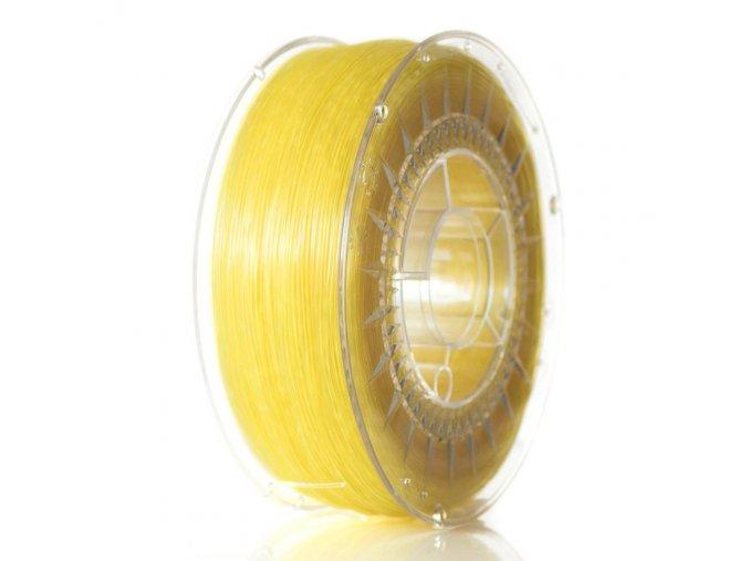 ABS filament Devil Design žlutý trasparentní