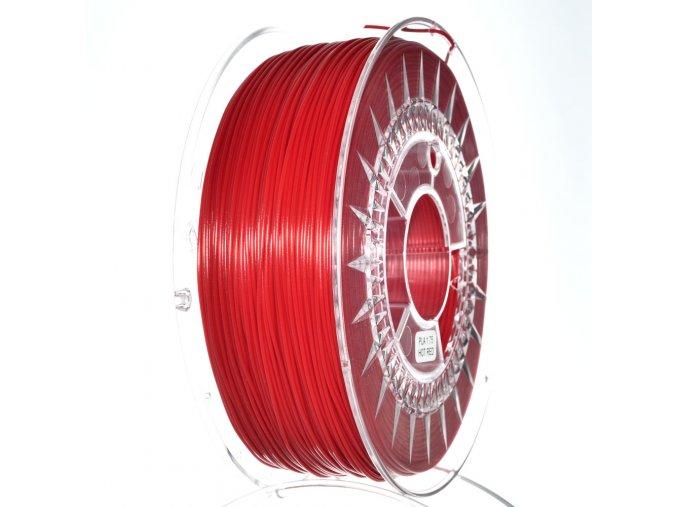 PLA filament Devil Design červený hot