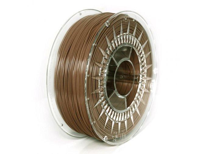 PLA filament Devil Design hnědý