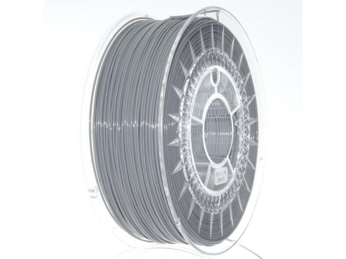PETG filament 1.75MM šedý DEVIL DESIGN