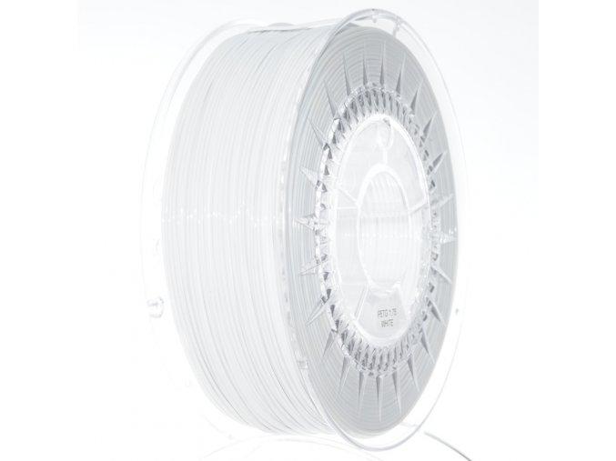 PETG filament 1.75MM bílý DEVIL DESIGN