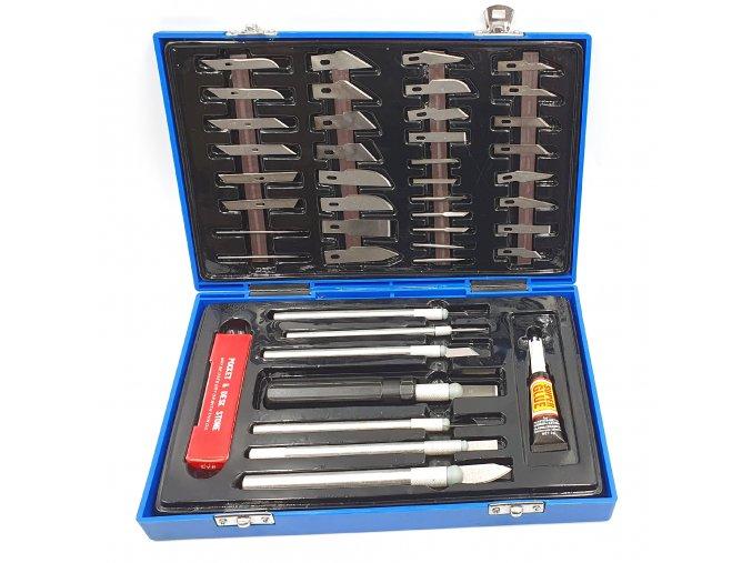 Sada modelářských nožů Fengda BD-450