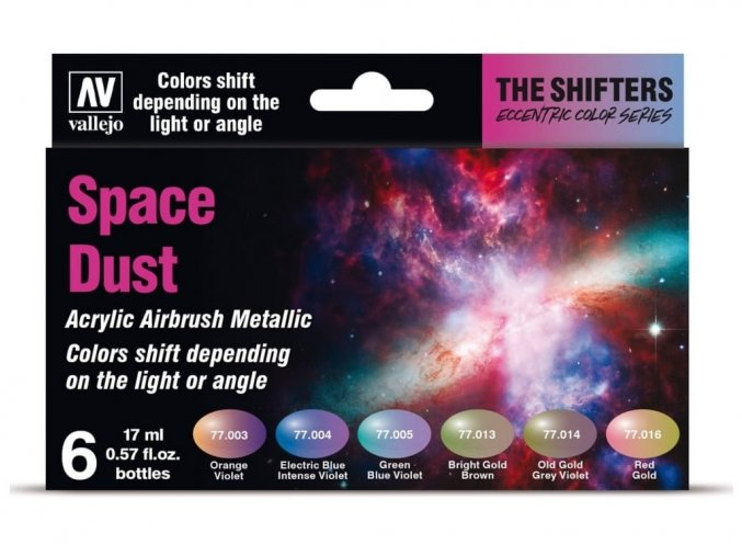 Vallejo The Shifters Set 77091 Space Dust (6)