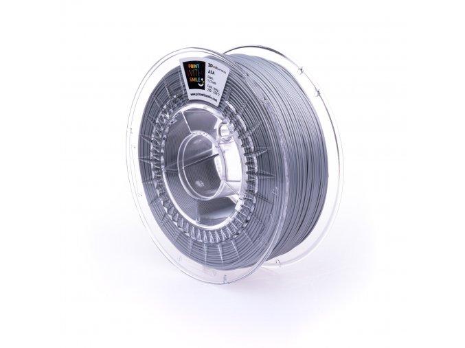 ASA filament Silver Shine 1,75 mm Print With Smile 0,85kg